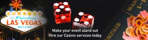 Casino Hire Services